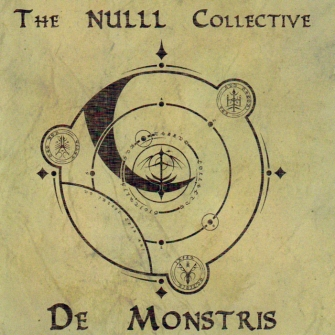 The NULLL Collective - De Monstris (Album Cover)