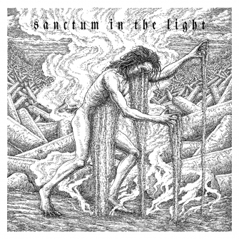 Of Spire & Throne - Sanctum In The Light (Album Cover)