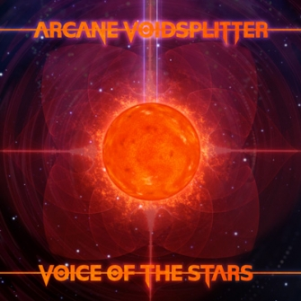 Arcane Voidsplitter - Voice Of The Stars (Album Cover)